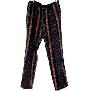Ralph Lauren blue red intricate design lounge pant